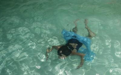 Jeux sous l'eau